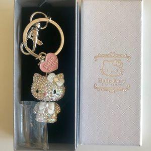Hello Kitty Rhinestone Keychain